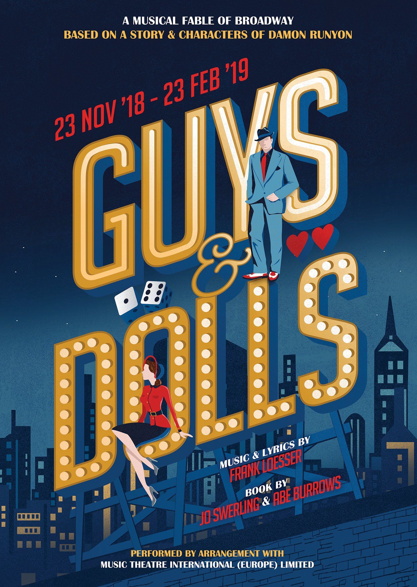 """Featured image for """"Guys and Dolls – The Mill at Sonning"""""""