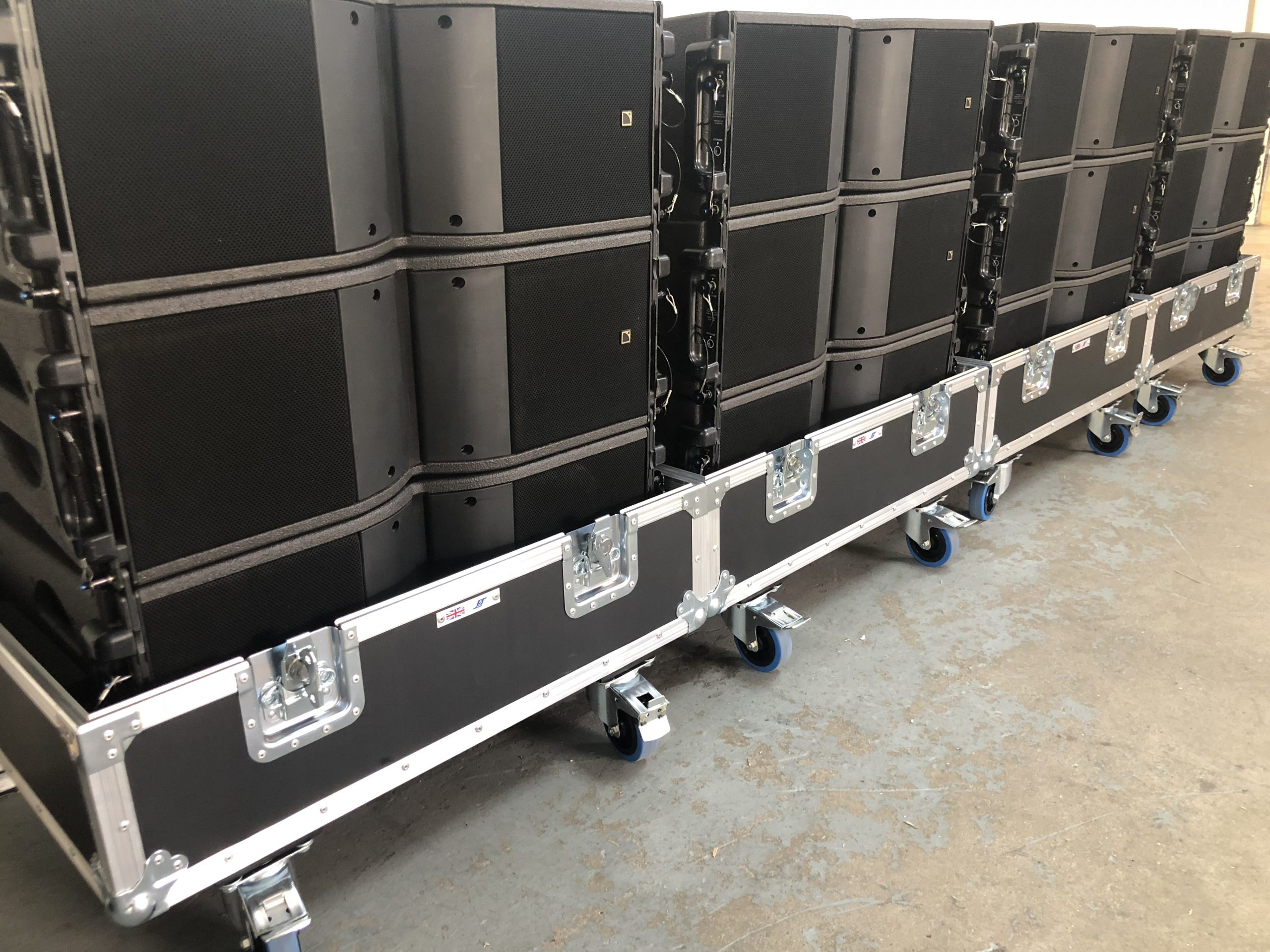 """Featured image for """"Reinforcing L-Acoustics Stock"""""""